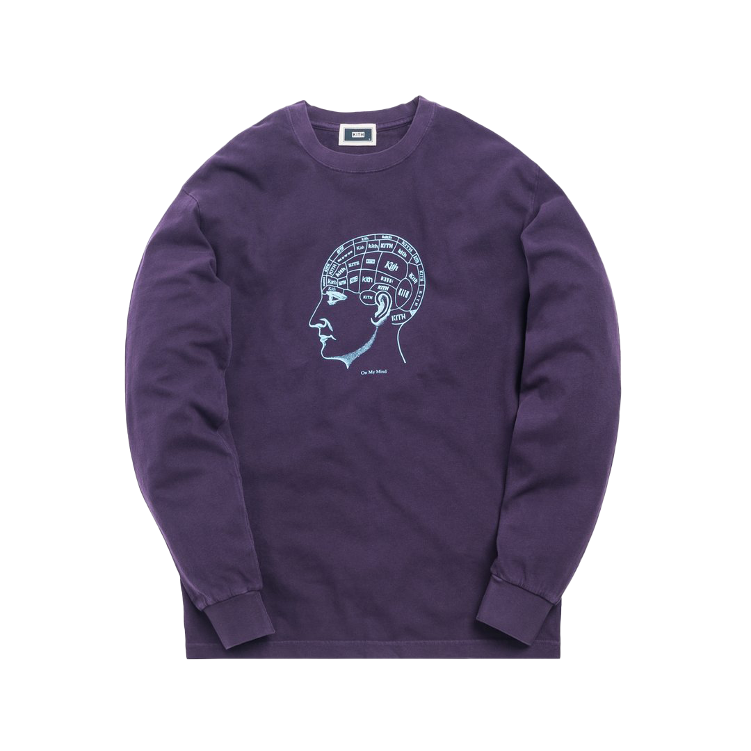 Kith On My Mind L/S Tee Purple