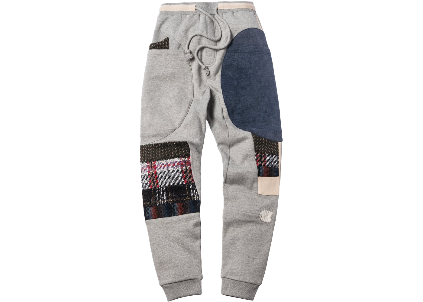 Kith Patchwork Ashford Pant Heather Grey by Stock X