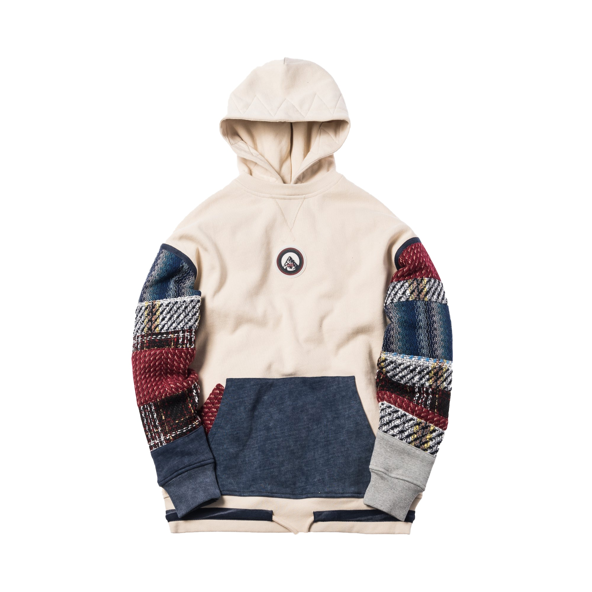 Kith Patchwork Williams Hoodie Off White