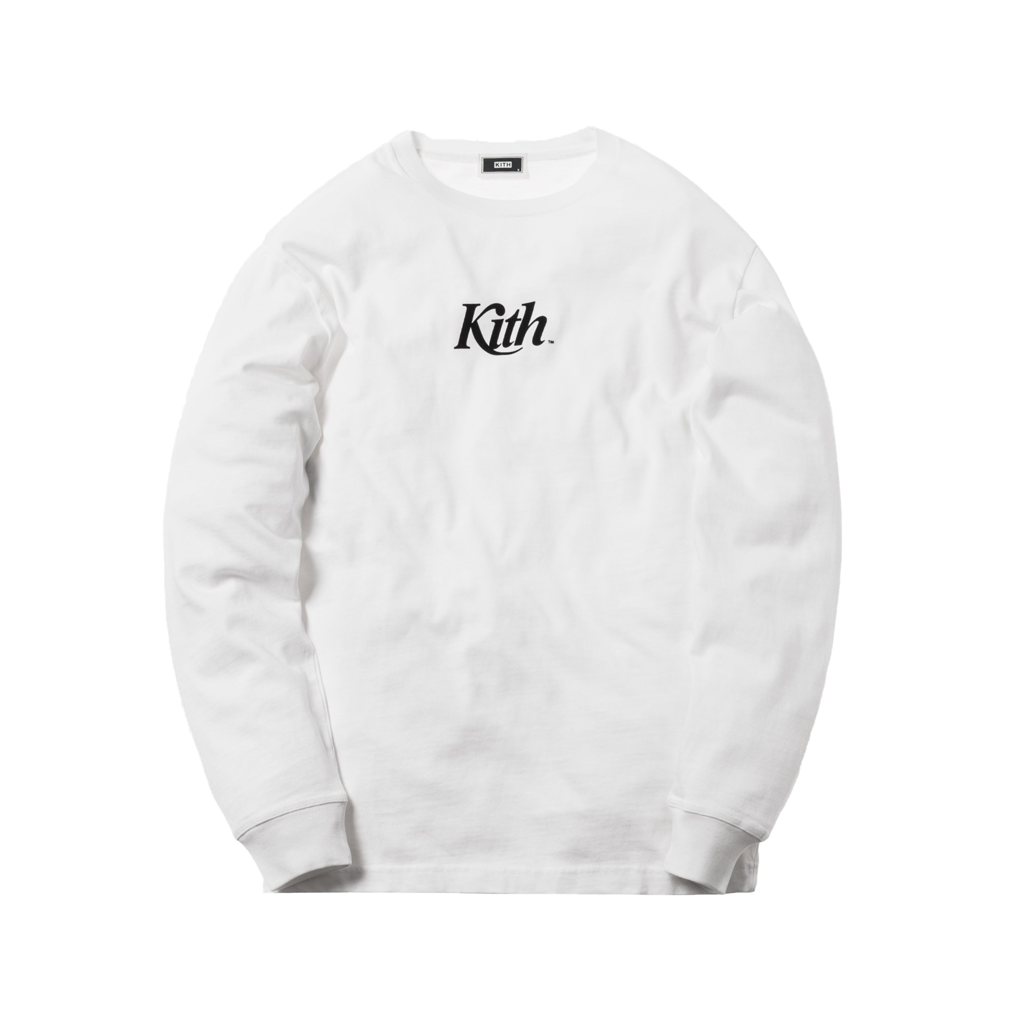 Kith Pigment Dyed Swash L/S Tee White