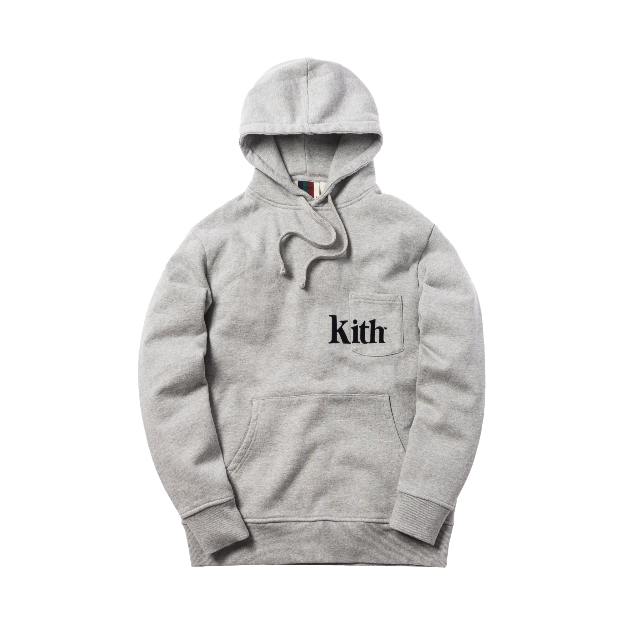 Kith Pocket Williams Hoodie Heather Grey
