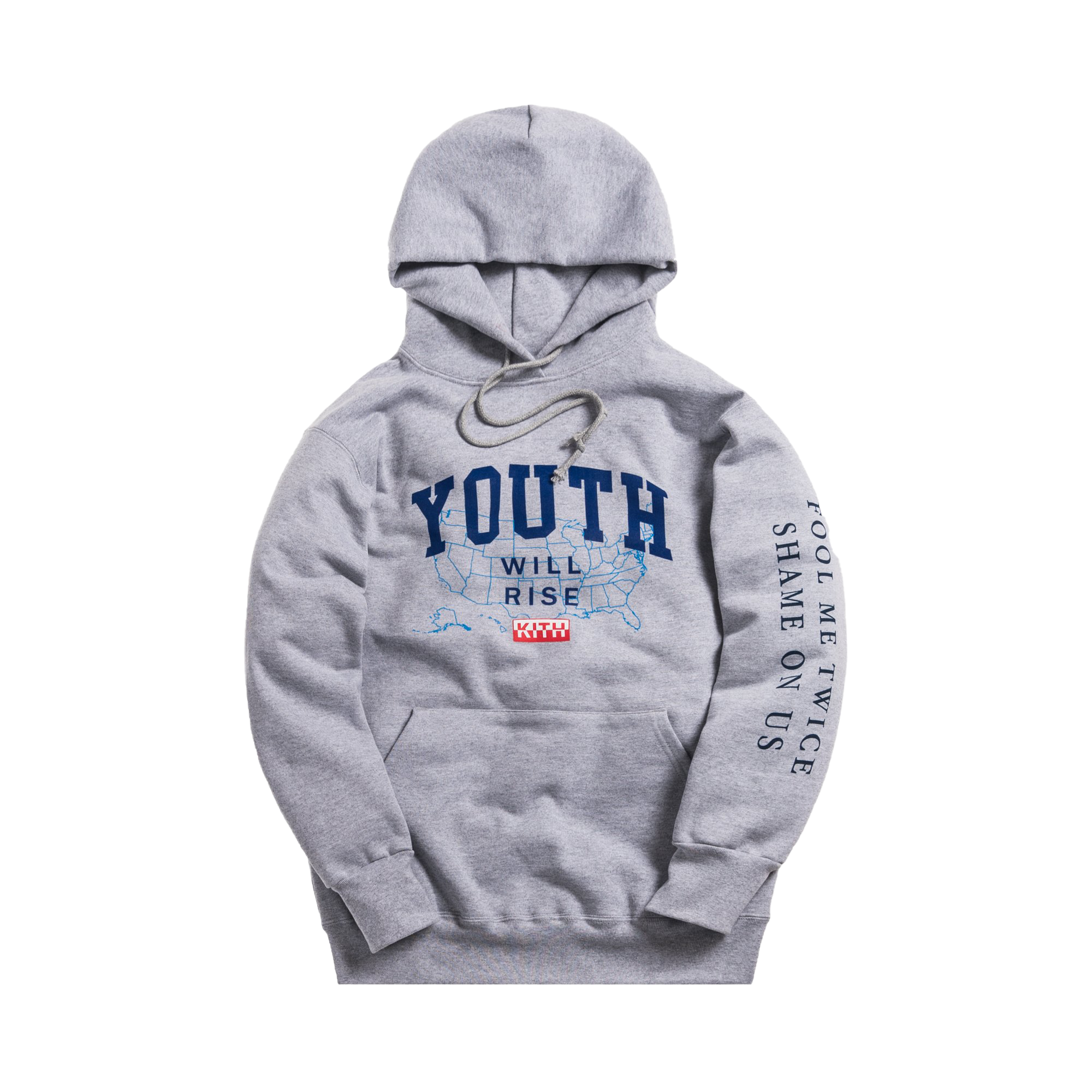Kith President's Day Hoodie Heather Grey