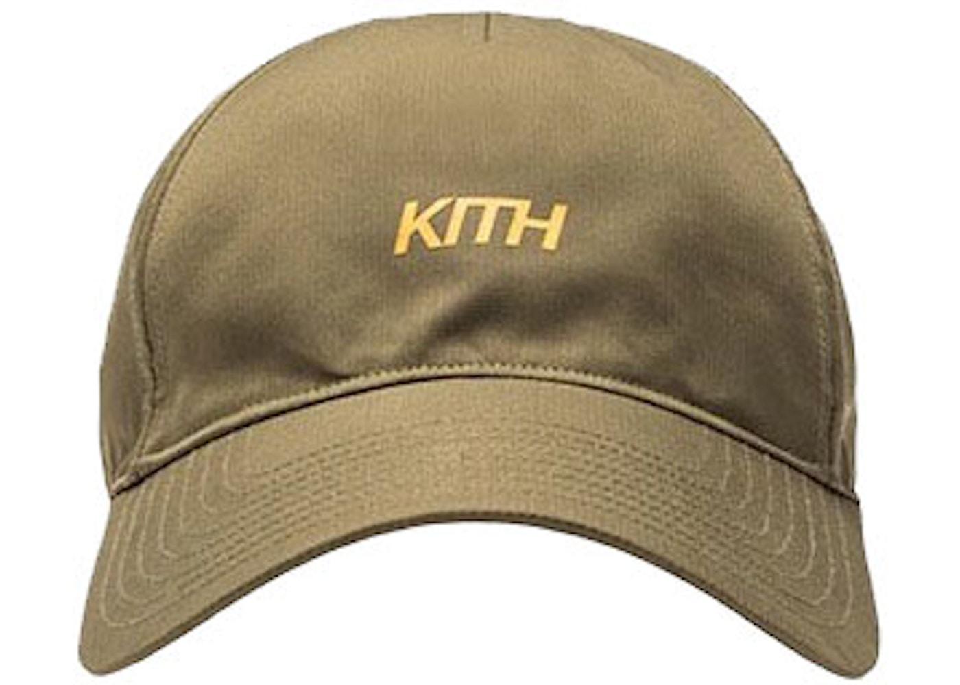 Kith Rays Logo Cap Olive - FW17 452a3e4a168