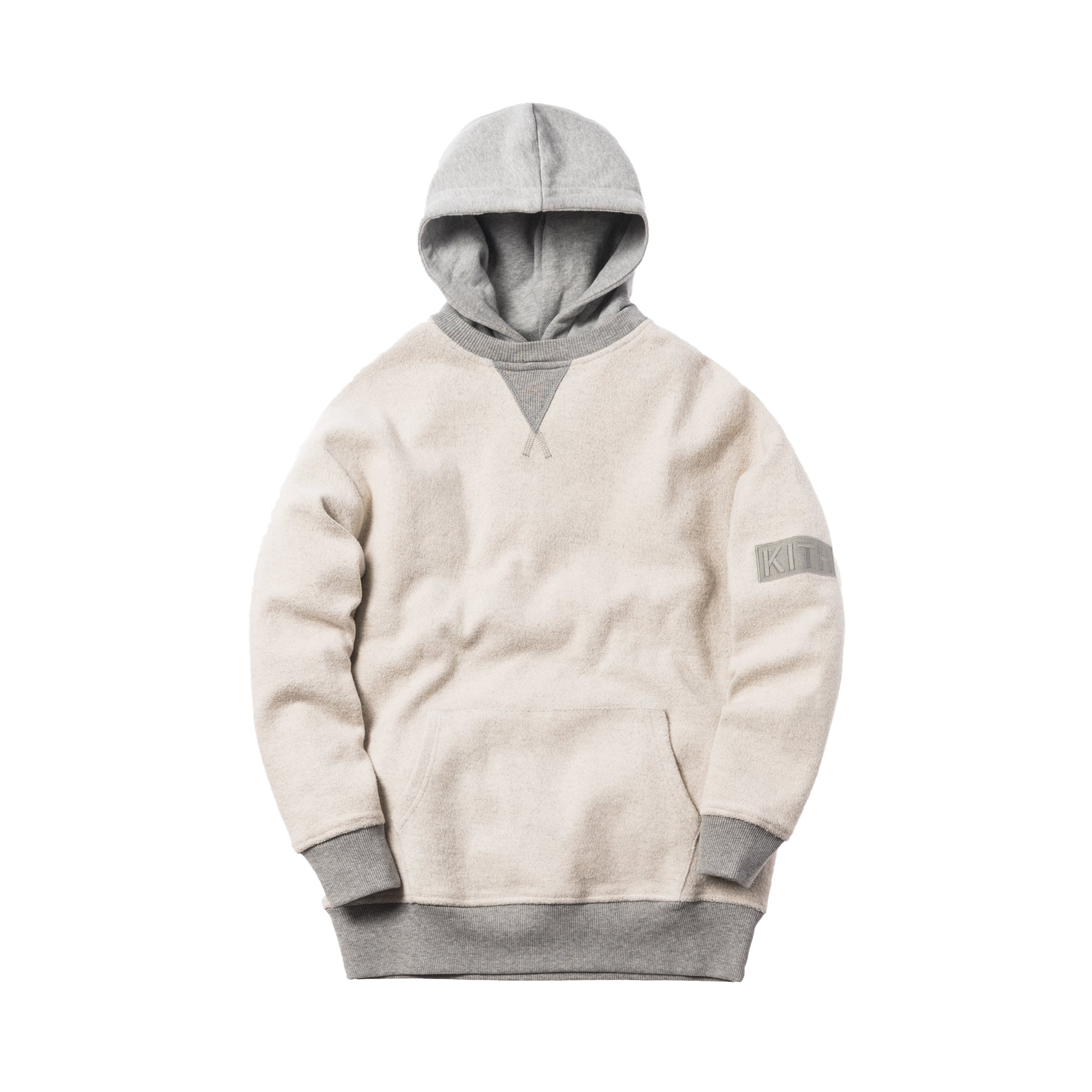 Kith Reverse Williams II Hoodie Heather Grey