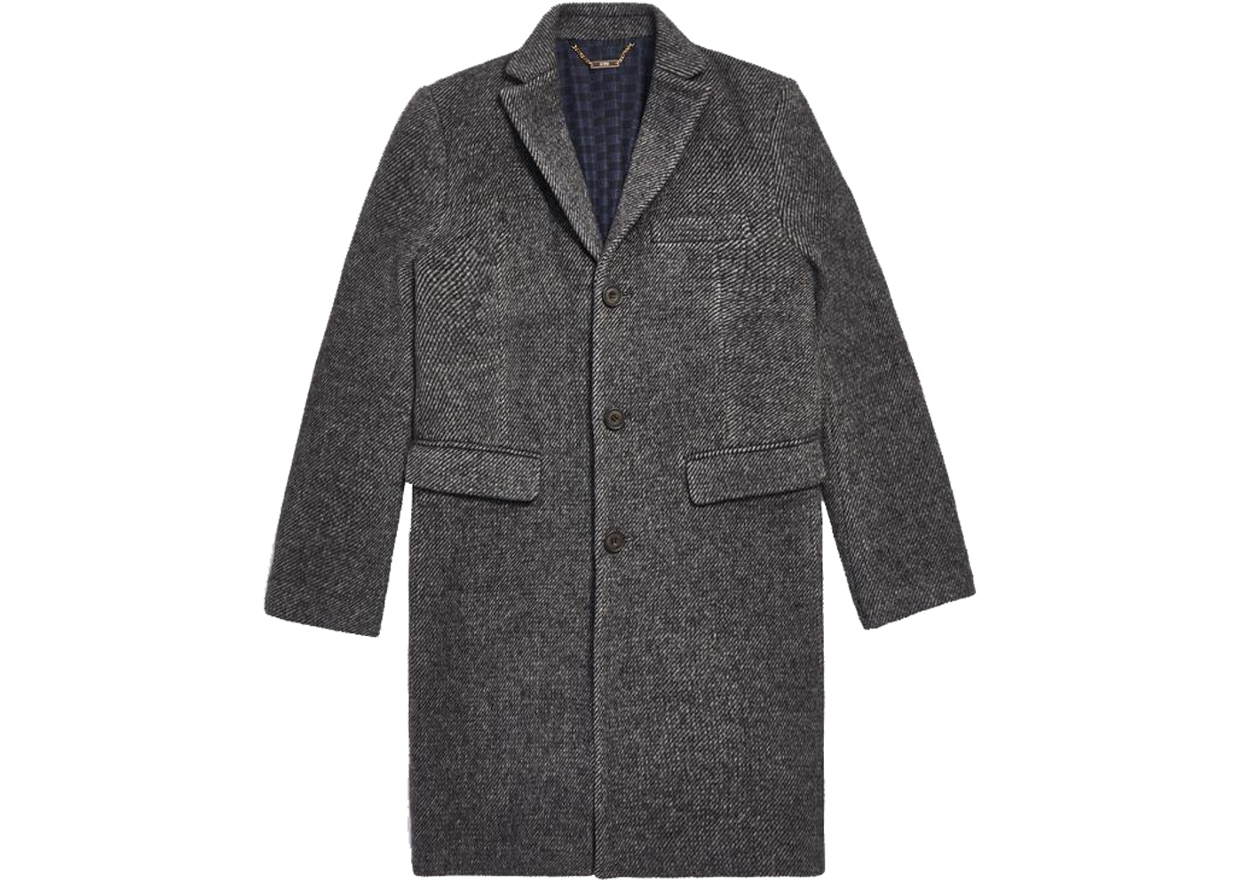 Kith Royce Wool Overcoat Black by Stock X
