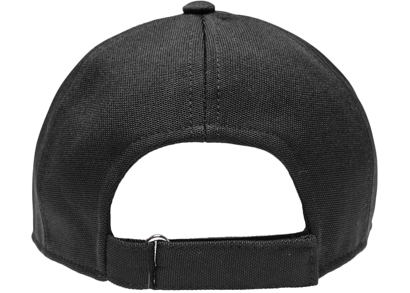 Kith Silver Classic Logo Cap Black - FW17 12de0e92b724
