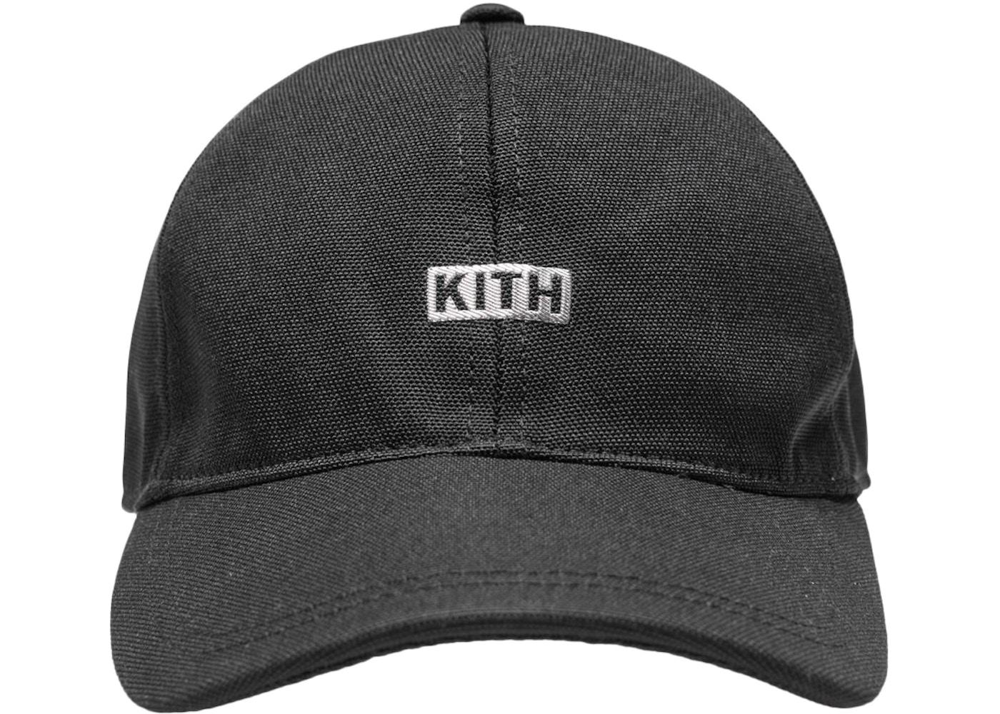 Kith Silver Classic Logo Cap Black. Silver Classic Logo 1d1e2169b9c4
