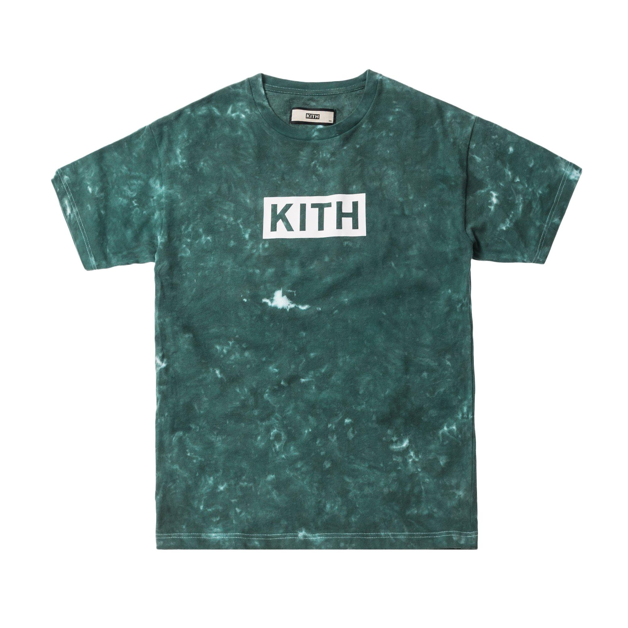 Kith Solid Dye Tee Green