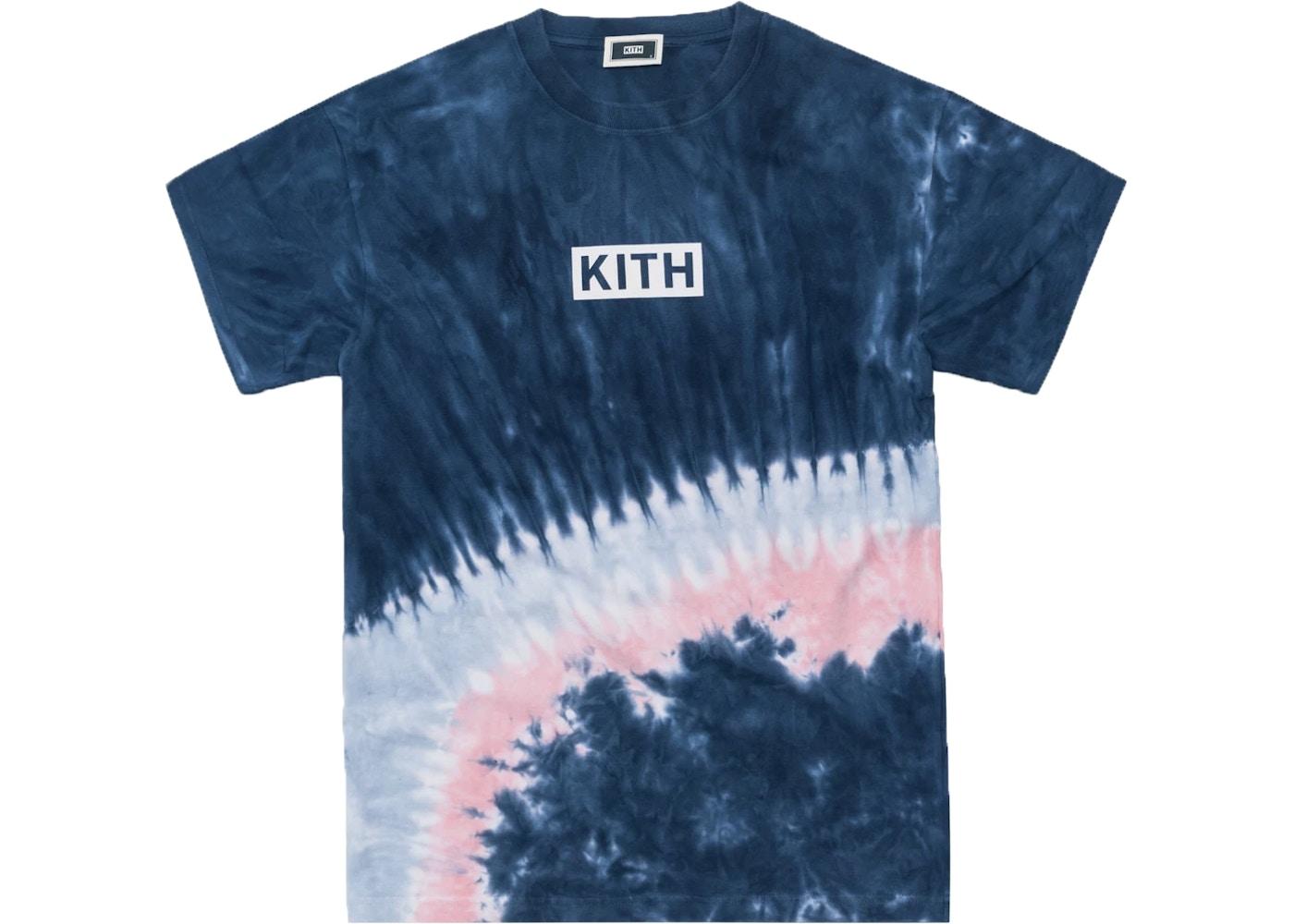 80cf288d Kith Summer Tie Dye Tee Blue/Pink - SS19