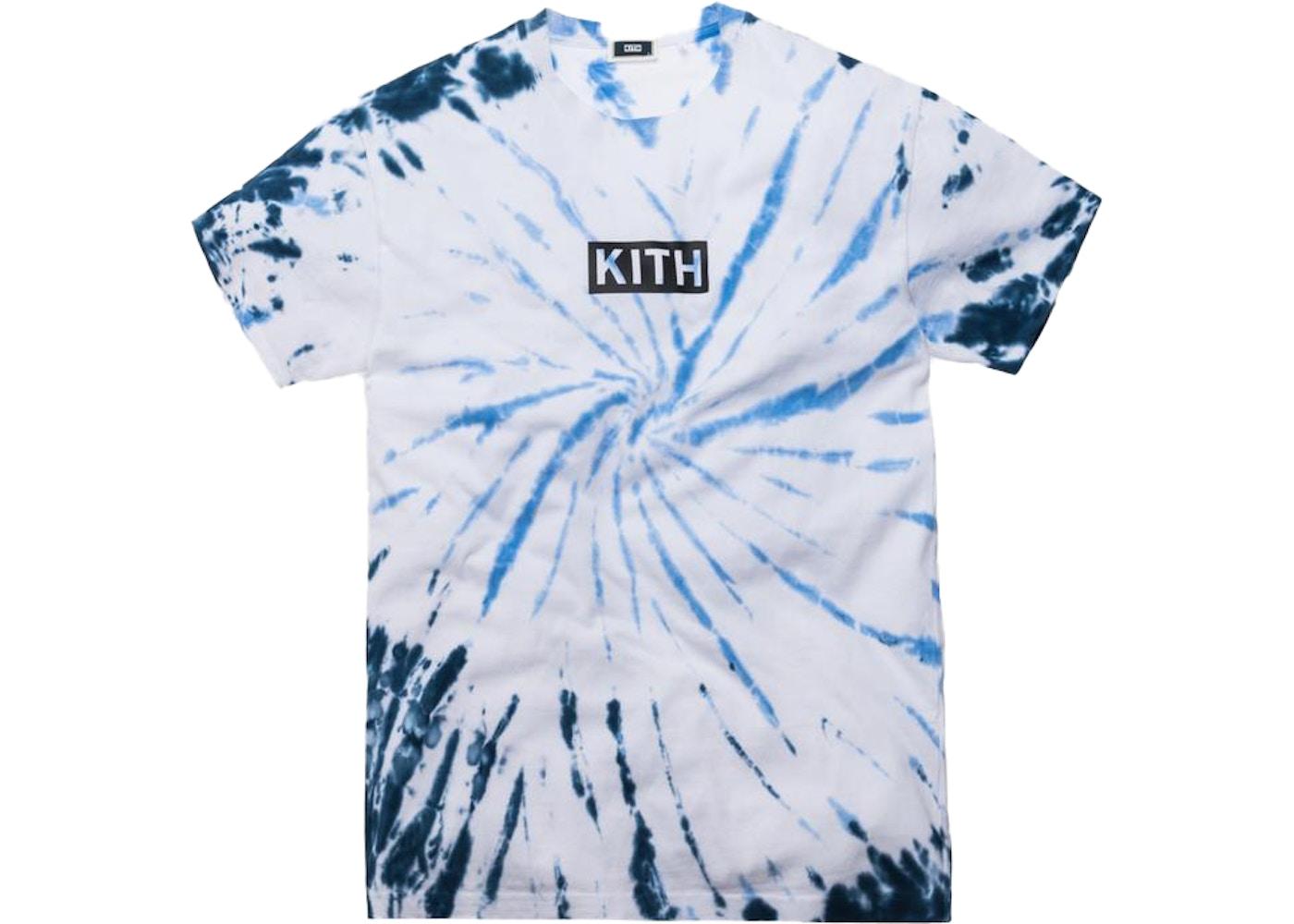 09d8889a Kith Summer Tie Dye Tee Blue/White - SS19