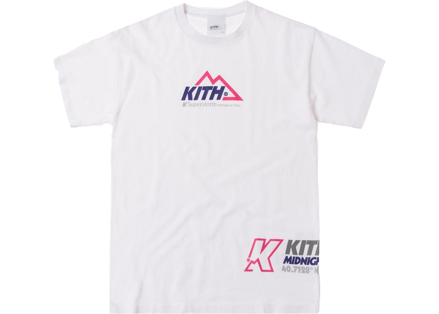 66a016632 Kith Team Tee White - FW18