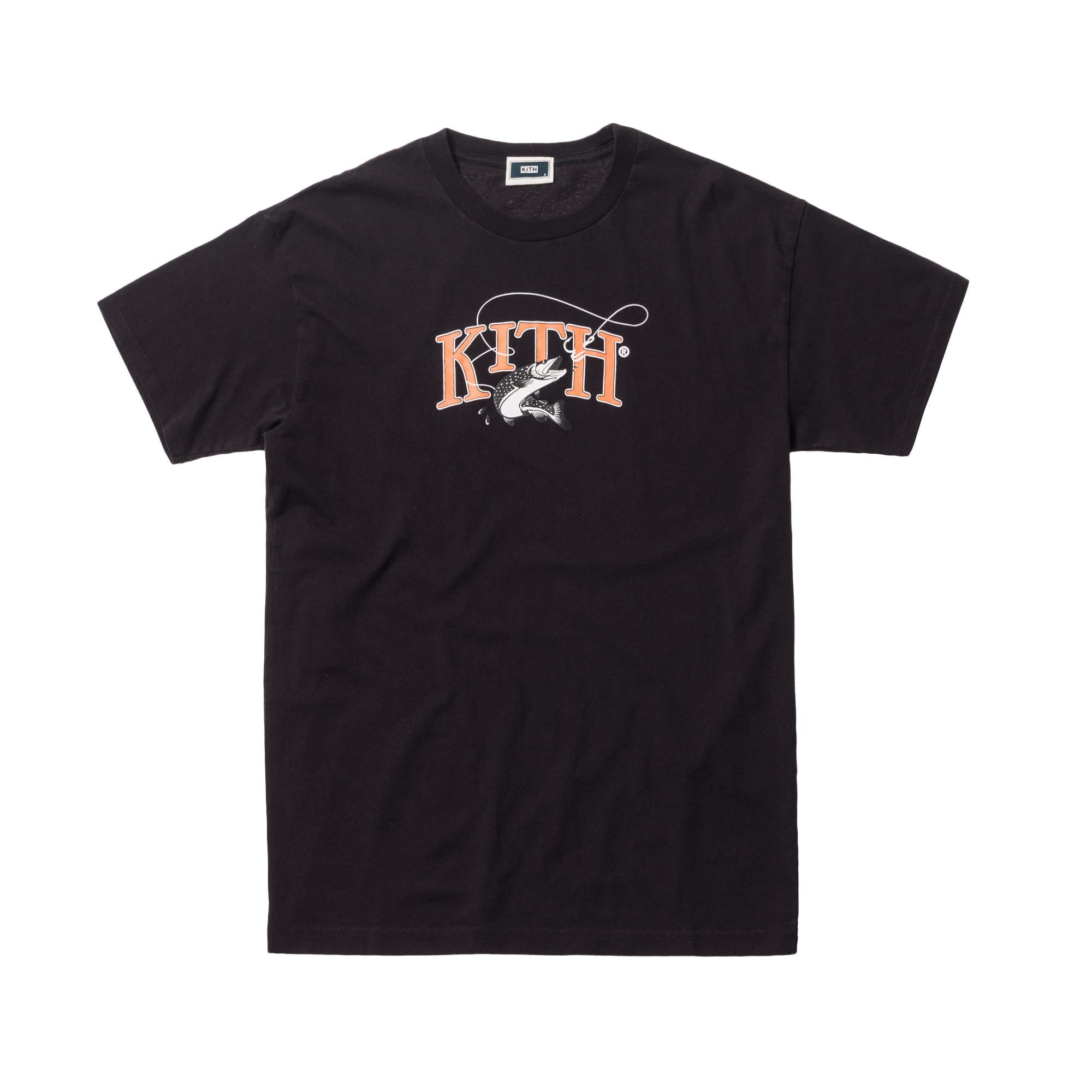 Kith Tight Lines Tee Black