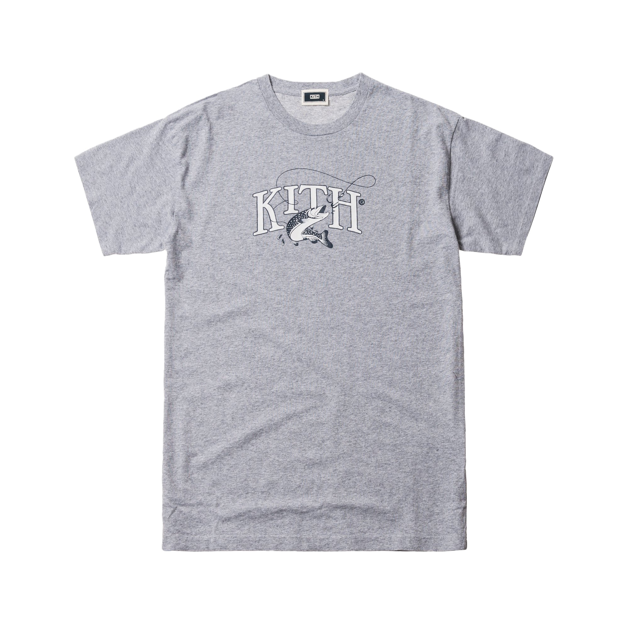 Kith Tight Lines Tee Heather Grey