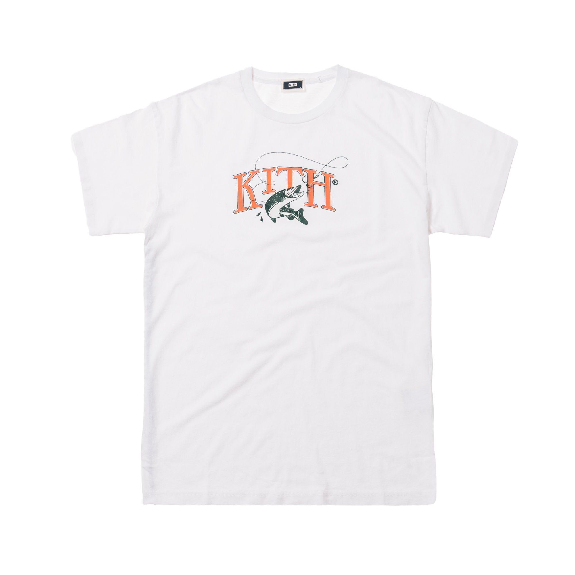 Kith Tight Lines Tee White