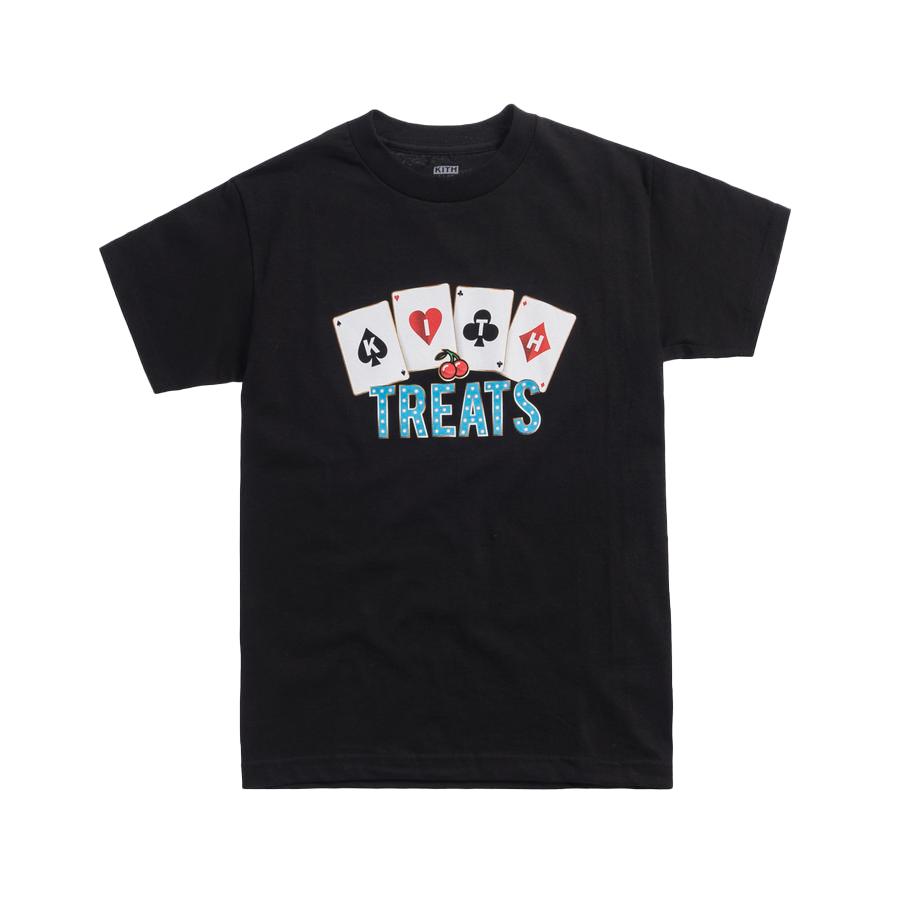 Kith Treats Cards Tee Black