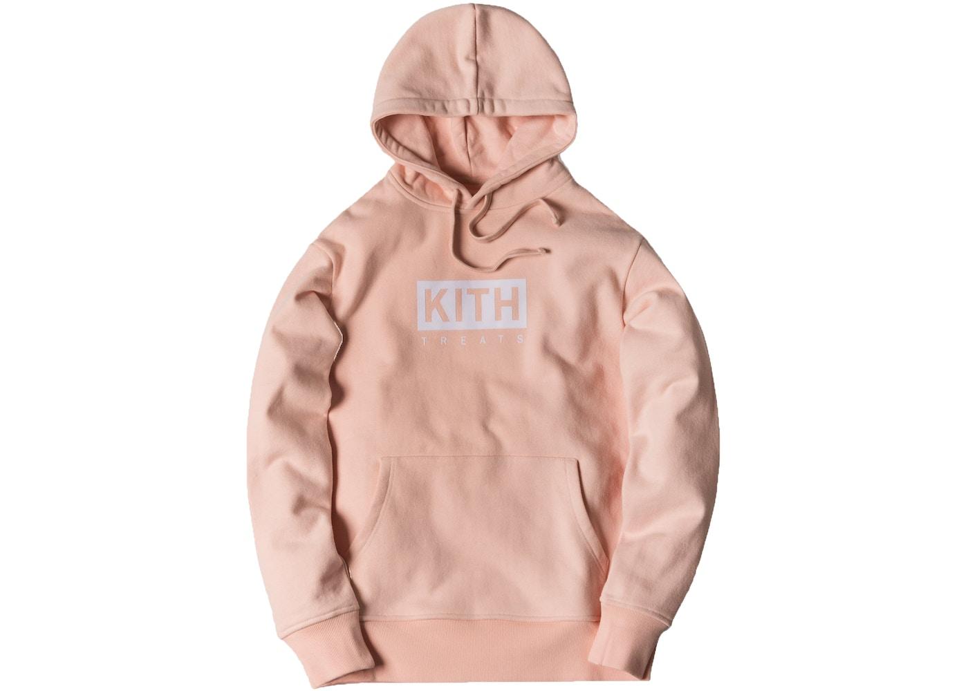 55b78b6d Kith Treats Hoodie Pink - SS17