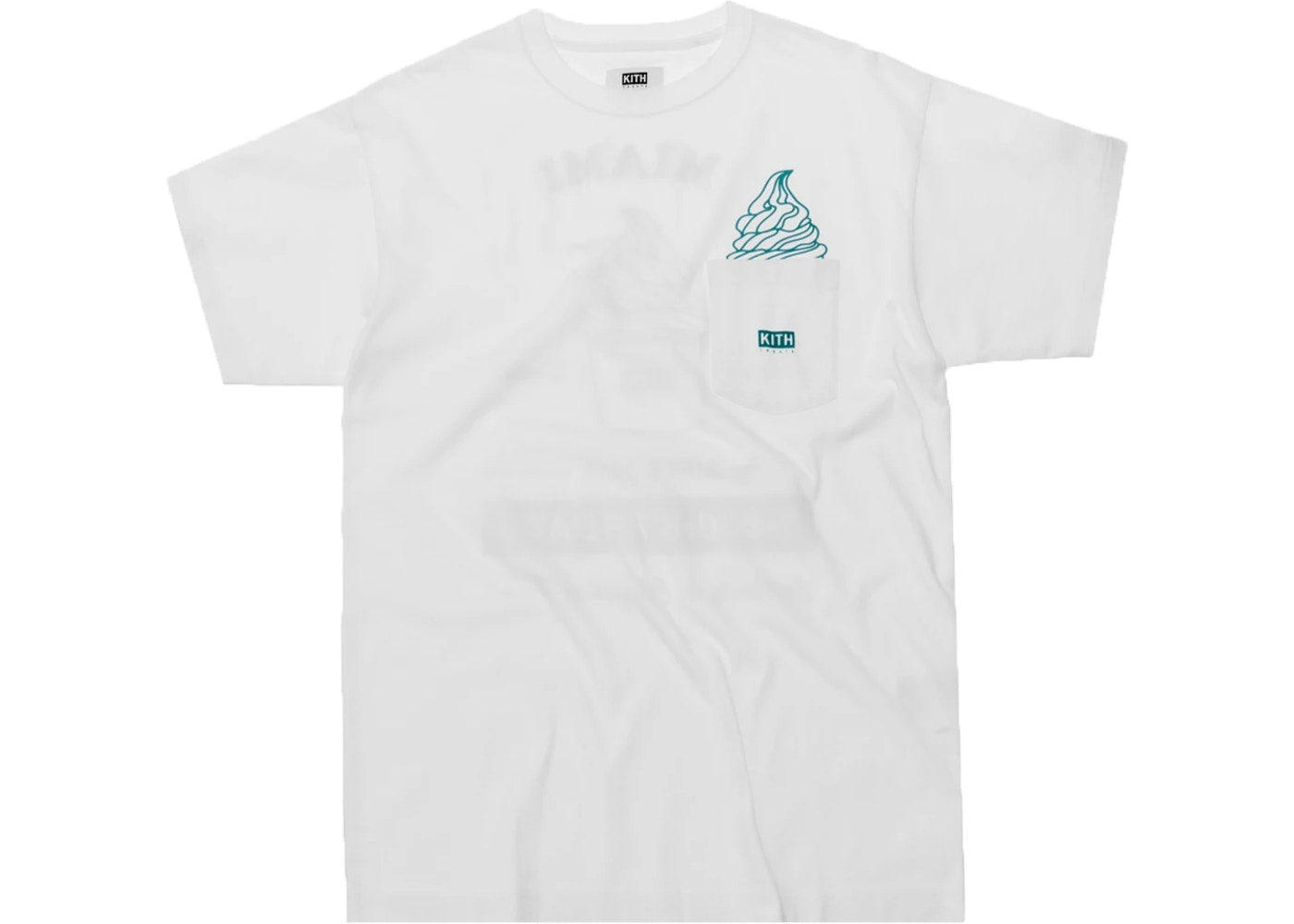 Kith Treats Ice Cream Day Tee Miami by Stock X