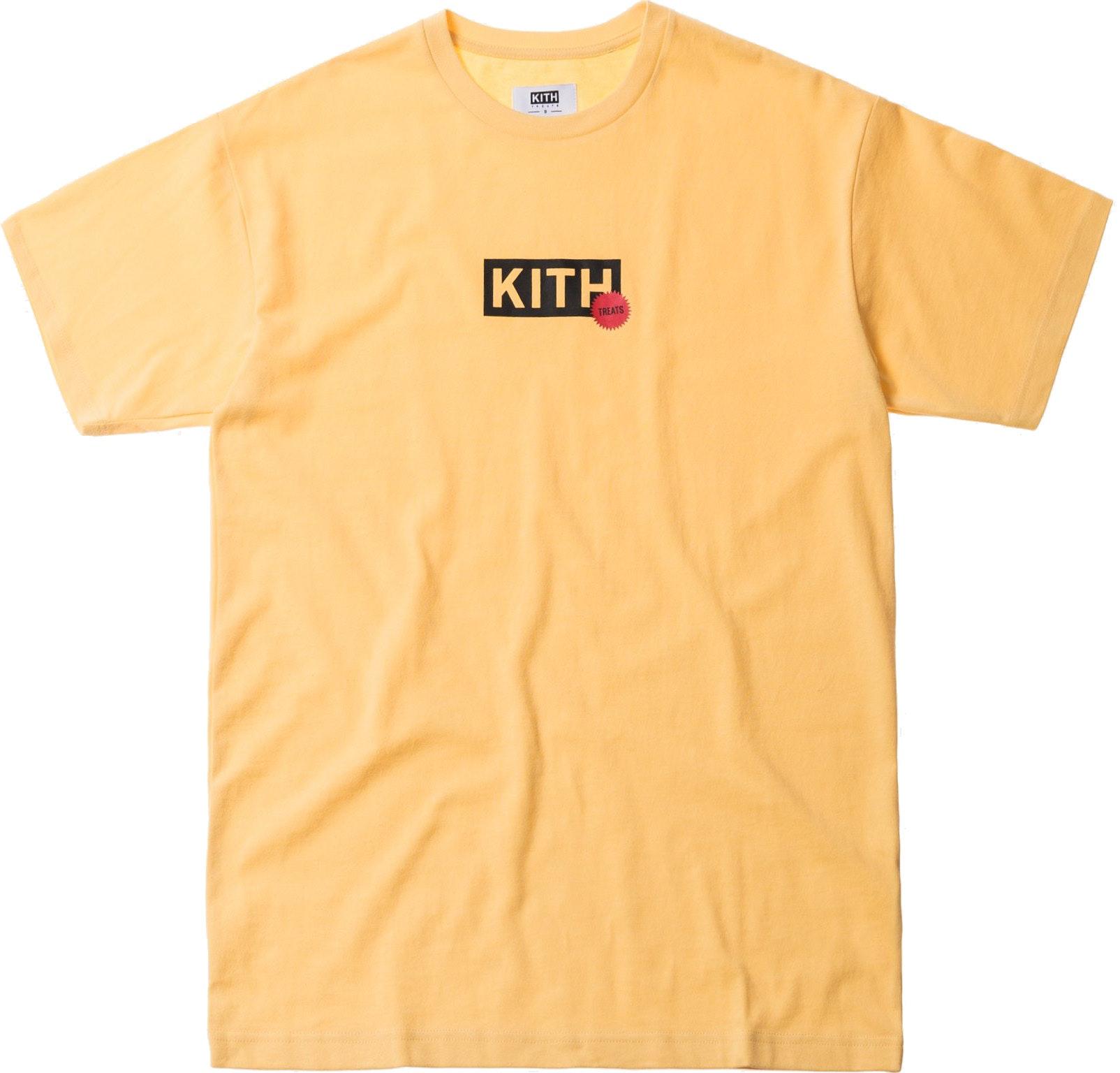 Kith Treats Proof Sticker Tee Yellow