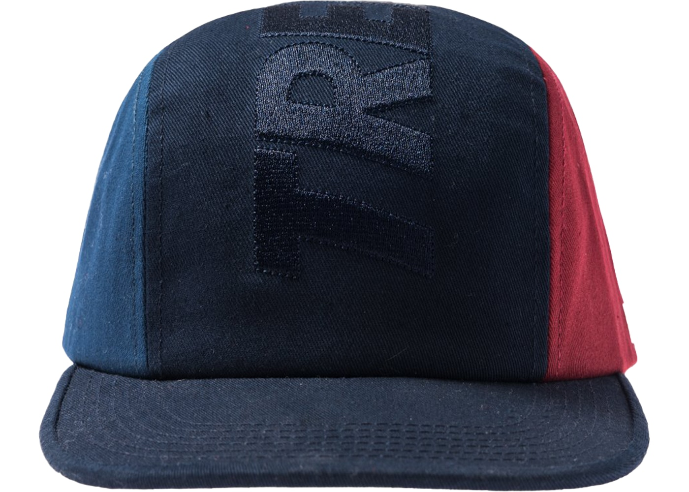 6b1f1f25 Kith Treats Tri Panel Hat Navy - FW18