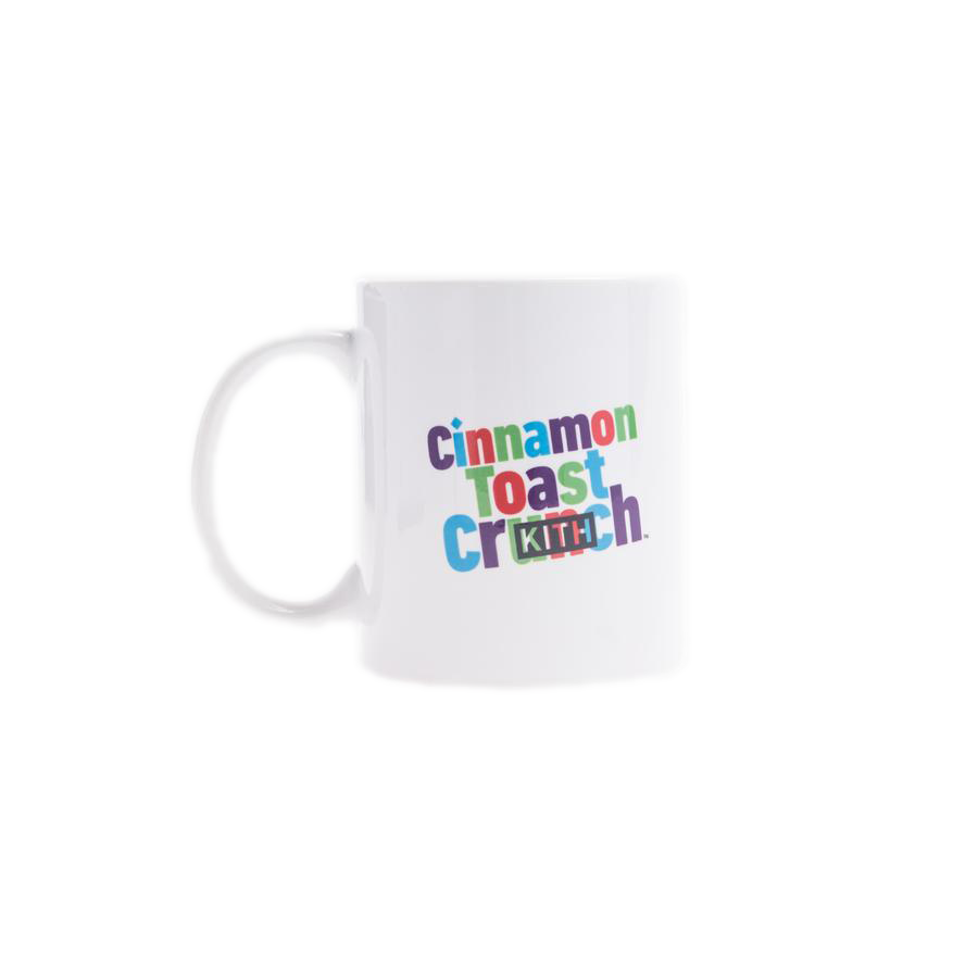 Kith Treats x Cinnamon Toast Crunch Mug White