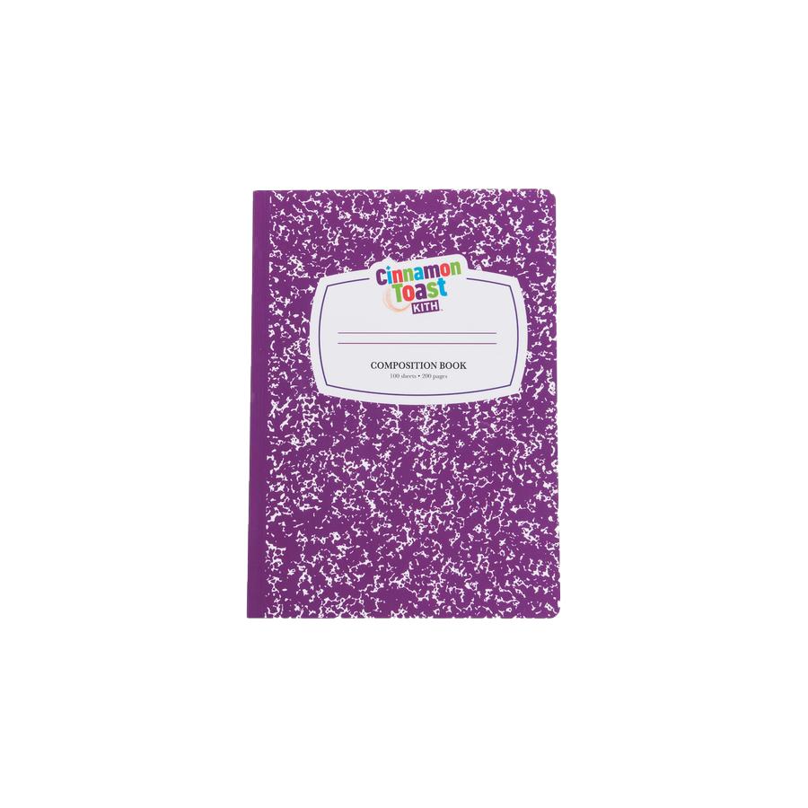Kith Treats x Cinnamon Toast Crunch Notebook Purple