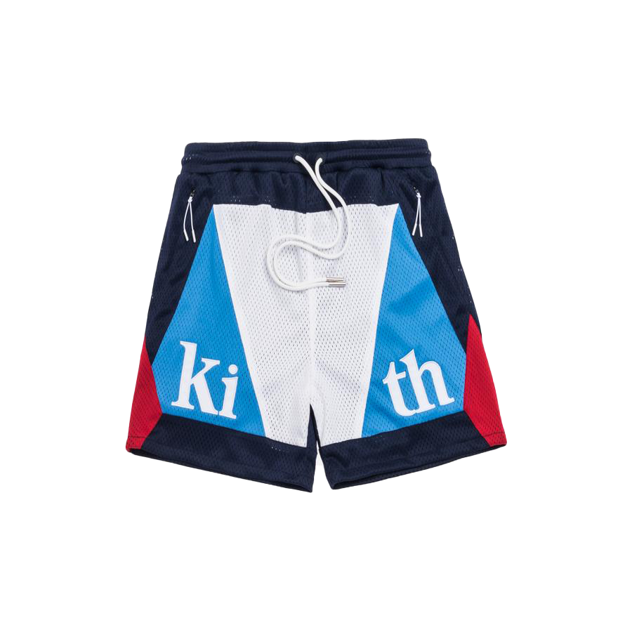 Kith Turbo Mesh Short Navy/Red/White