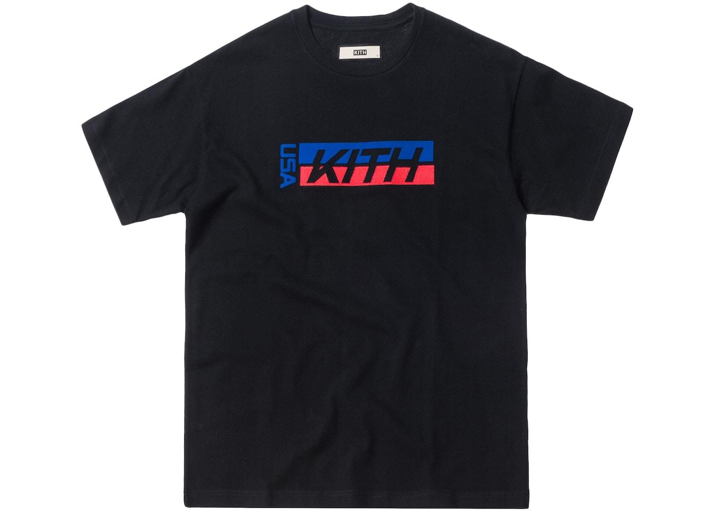 c071fe754 Kith USA Factory Team Tee Black - SS18