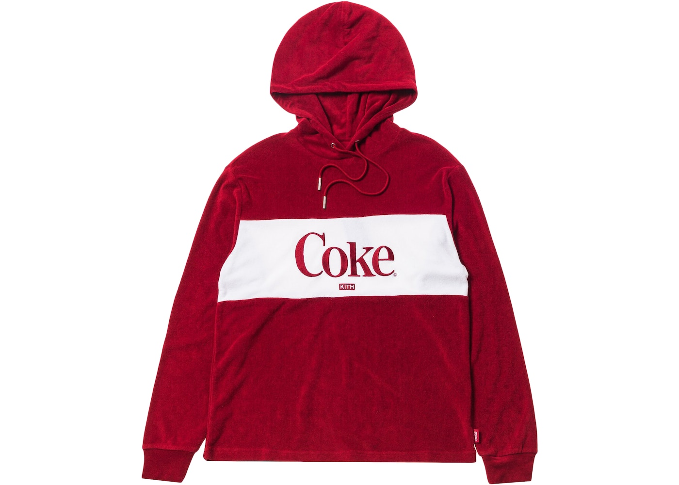 715256fa Kith Women x Coca-Cola Terry Hoodie Red - FW18