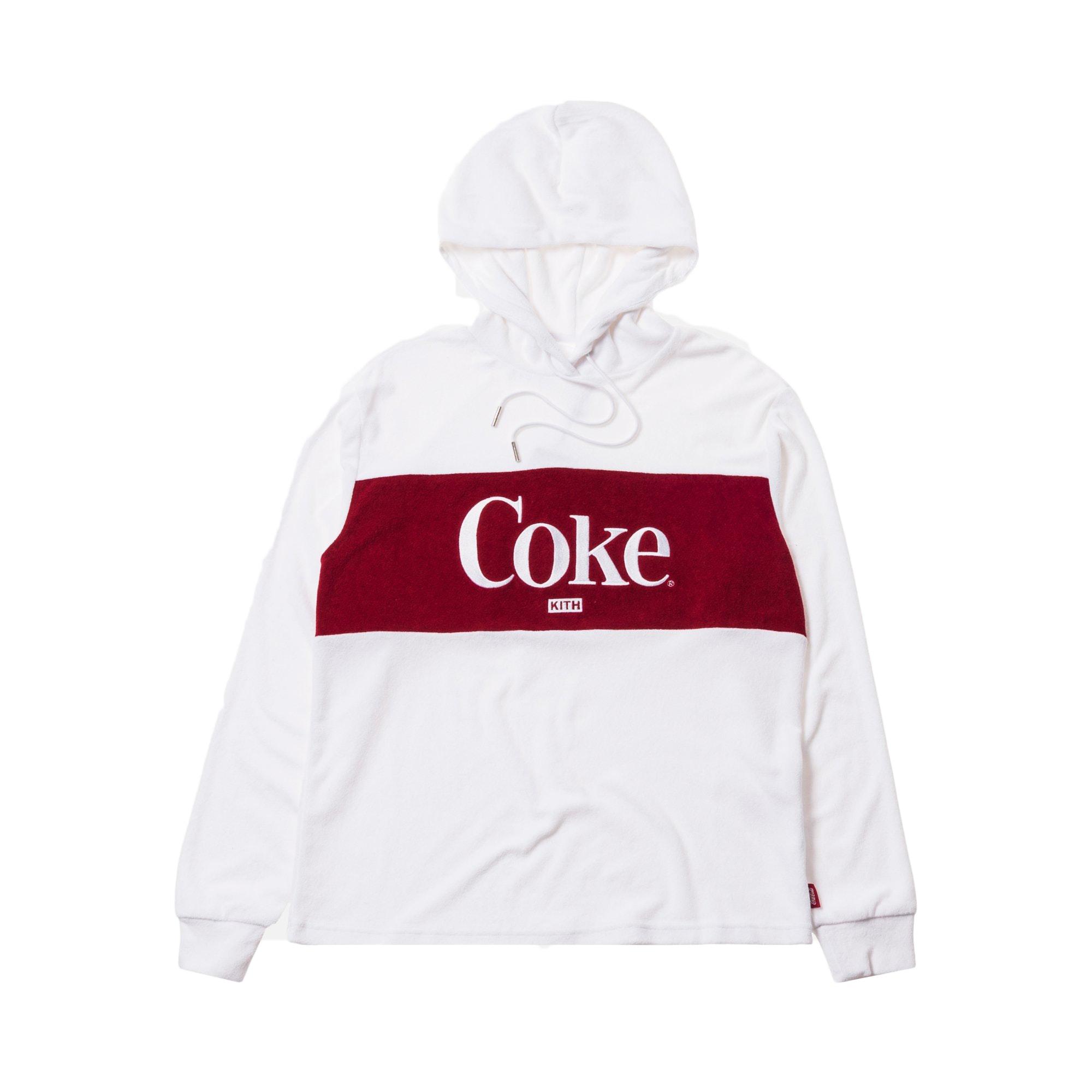 Kith Women x Coca-Cola Terry Hoodie White
