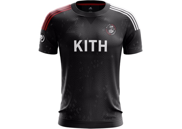 Kith adidas Soccer Cobras Home Game Jersey Black - SS17 1834840bf