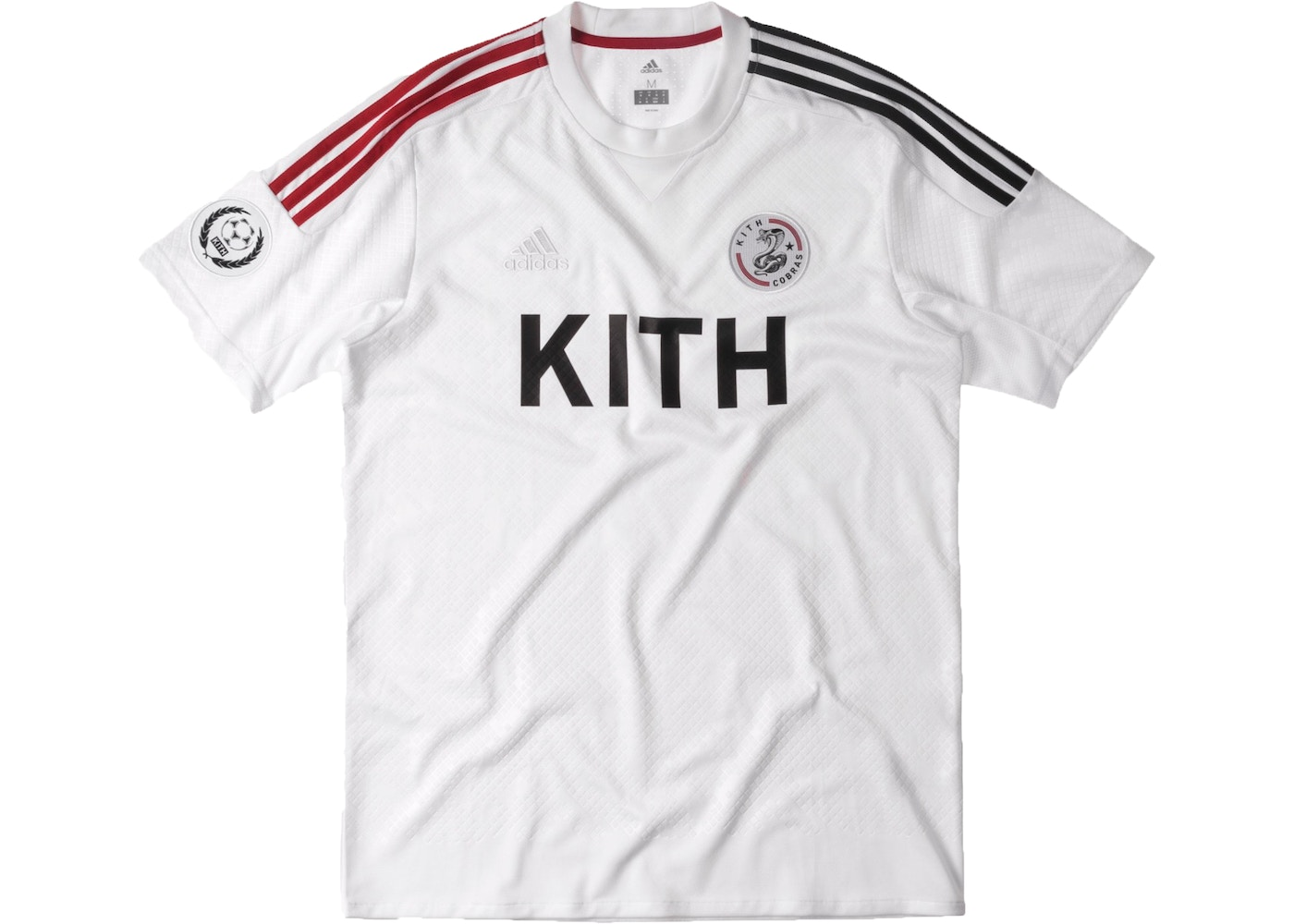 Sell. or Ask. Size M. View All Bids. Kith adidas Soccer Cobras Home Game  Jersey White 89b03de32