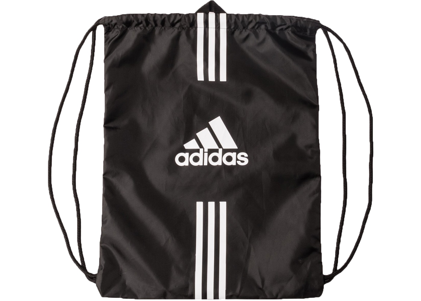 Kith Adidas Soccer Drawstring Bag Black