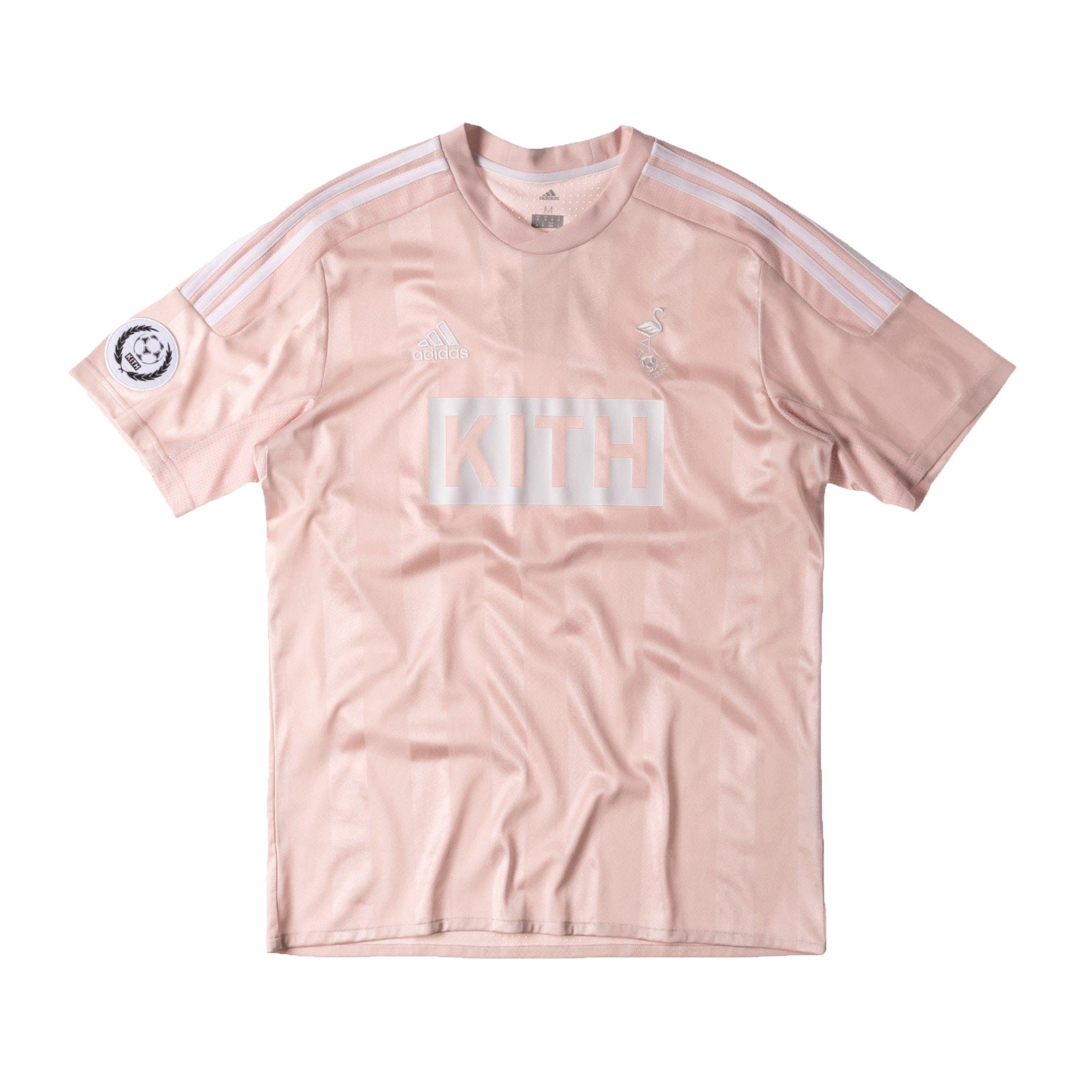 Kith adidas Soccer Flamingos Home Game Jersey Pink
