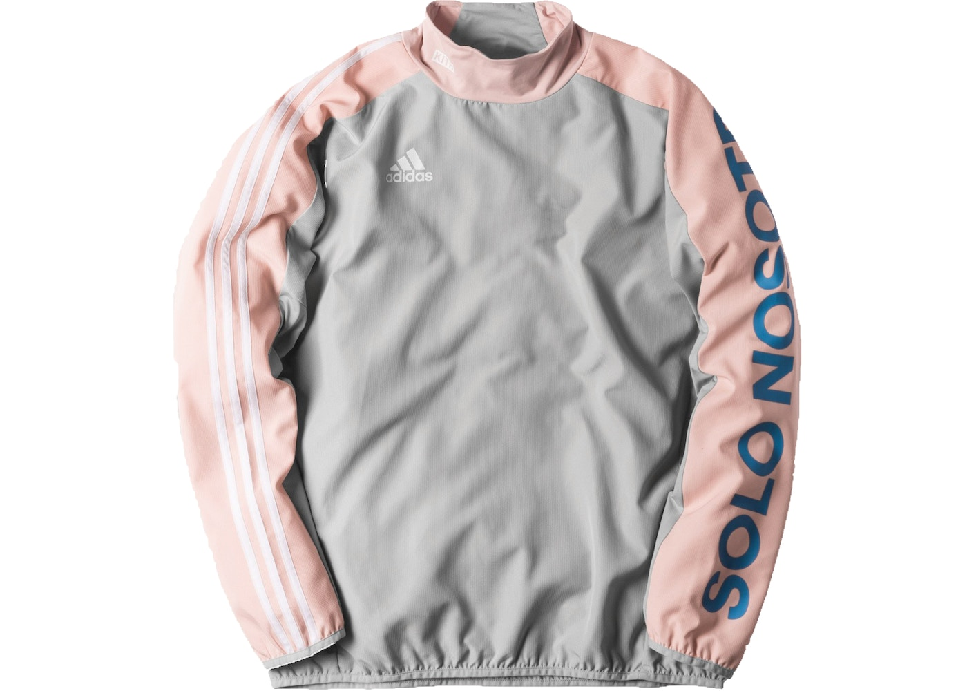 sale retailer fa42b 655f6 Kith adidas Soccer Flamingos Piste Warm Up LS Tee Grey