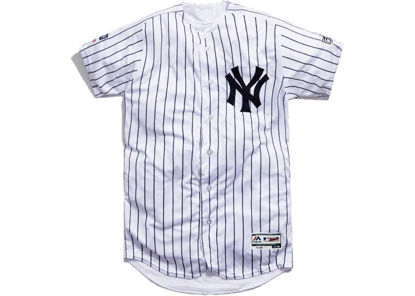 new arrival a5593 4be4e Kith x CC Sabathia x MLB Home Jersey White/Navy