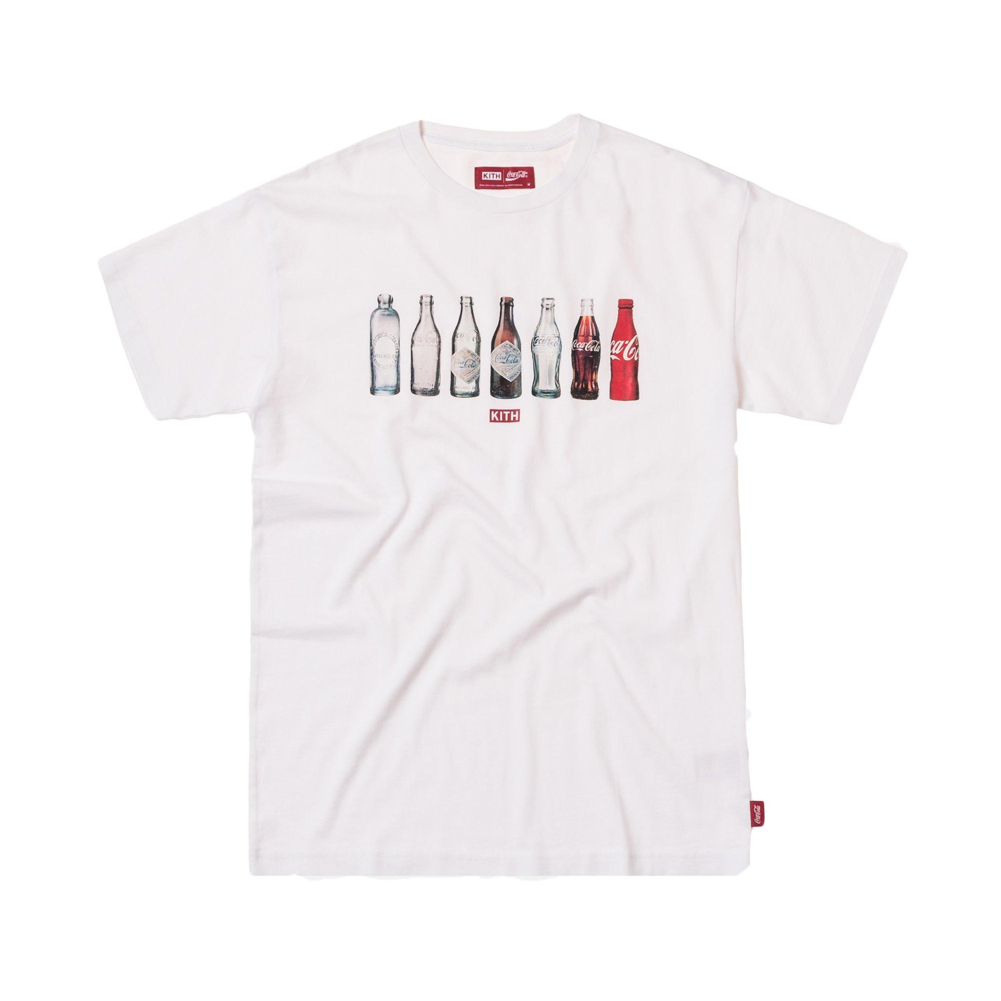 Kith x Coca-Cola Bottle Tee White