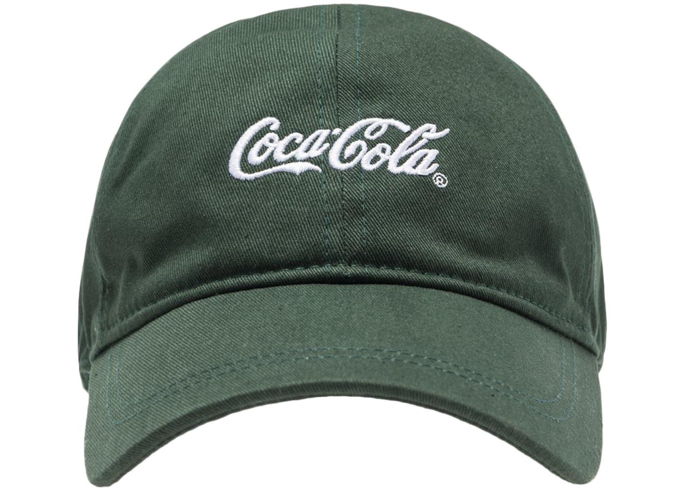 07019d83358 Kith x Coca-Cola Classic Coke Logo Cap Green • FW18 Release • StockX