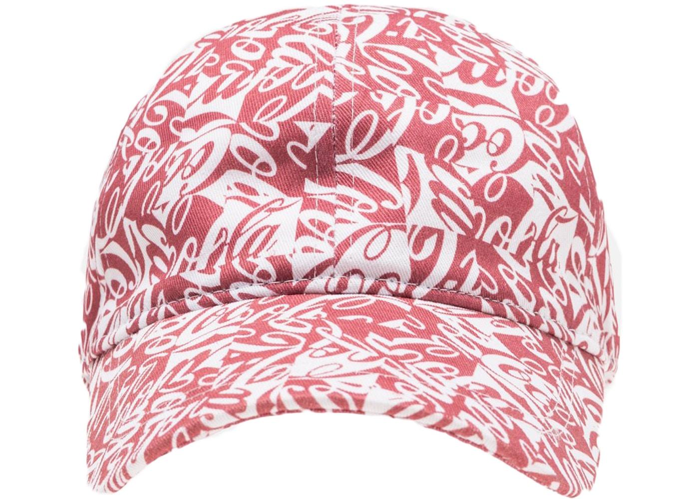 69bcc310407 Kith x Coca-Cola Cubed Cap Red - FW18