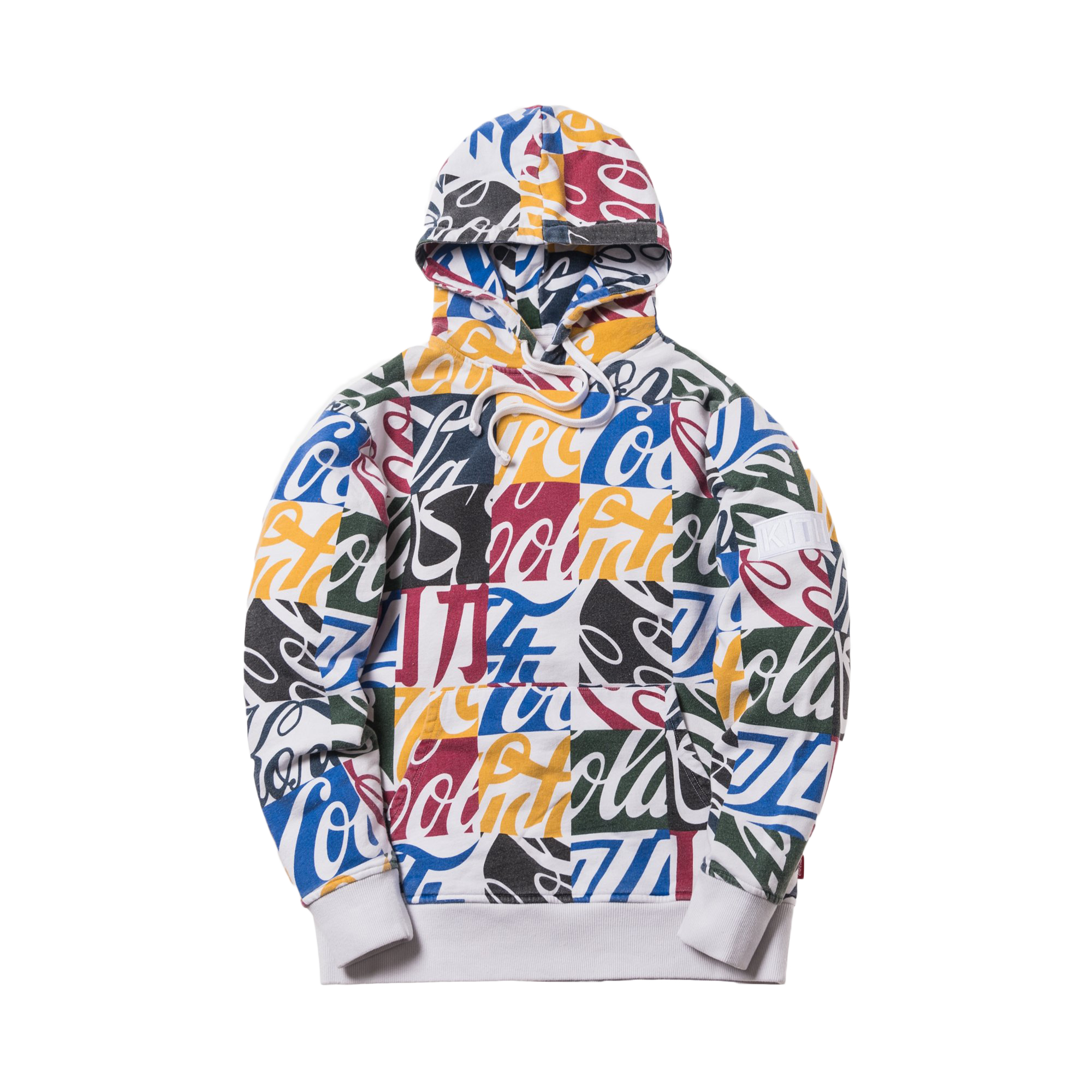 Kith Hoodie Global Multi Cola Fw18 Cubed Coca X aBrpqa7