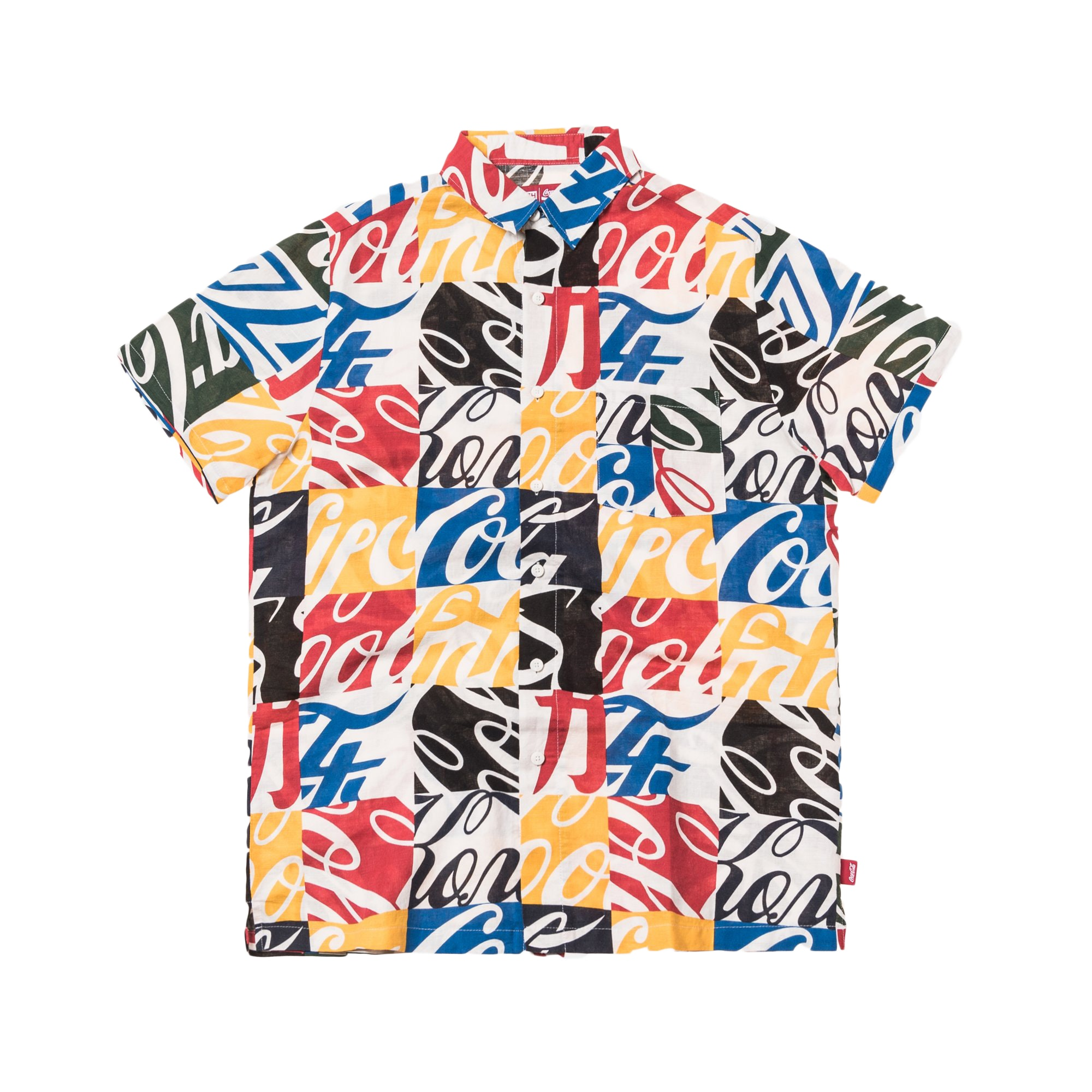 Kith x Coca-Cola Hawaiian Button Up Multi