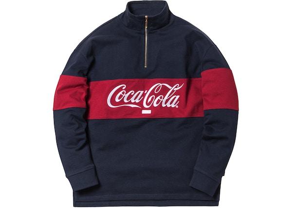 fec45bdf7fb Kith x Coca-Cola Quarter-Zip Rugby Navy