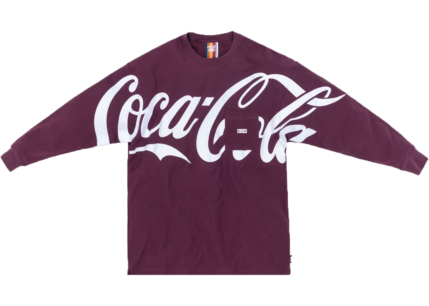 Kith X Coca Cola Quinn L/S Tee Purple by Stock X