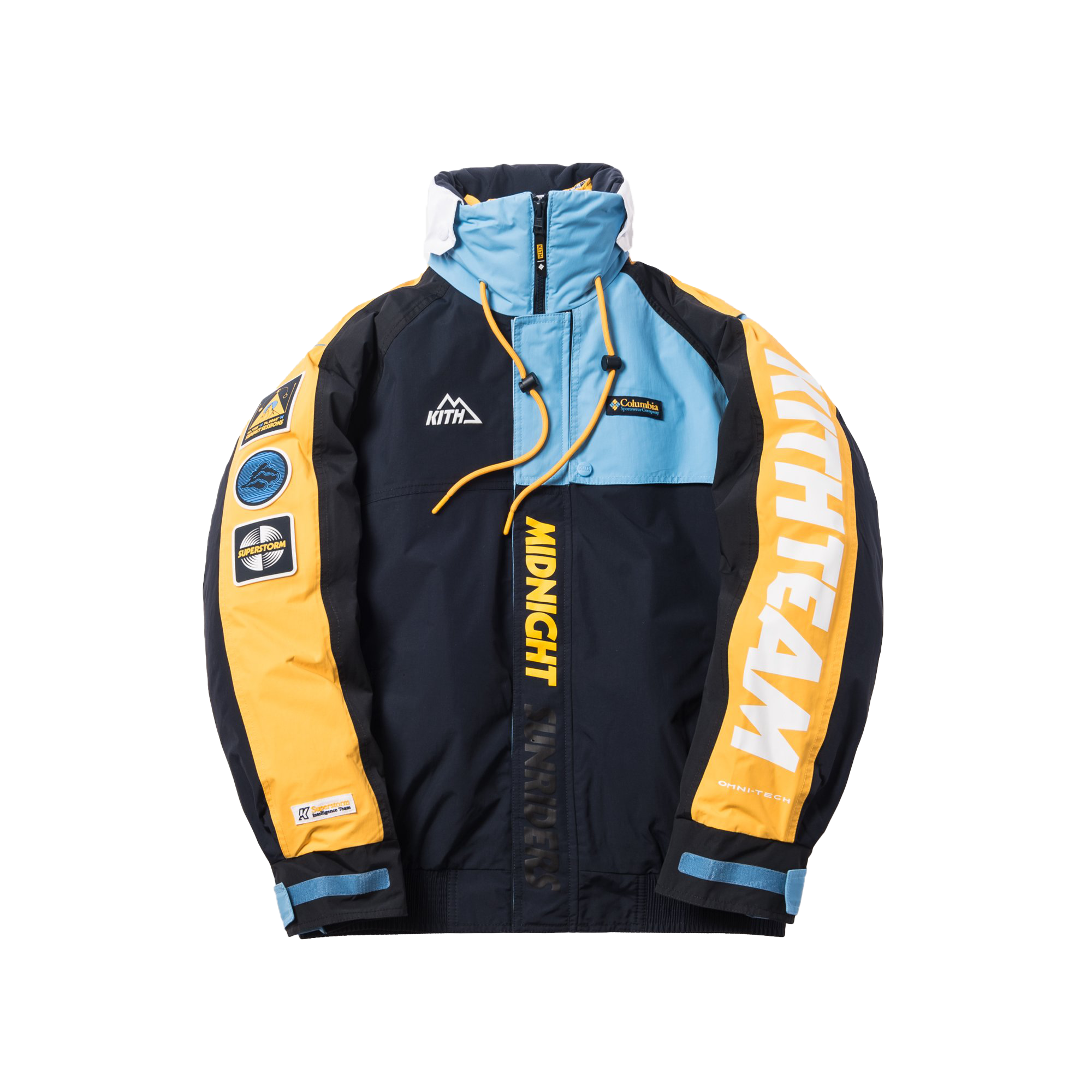 Kith x Columbia Criterion IC Parka Abyss