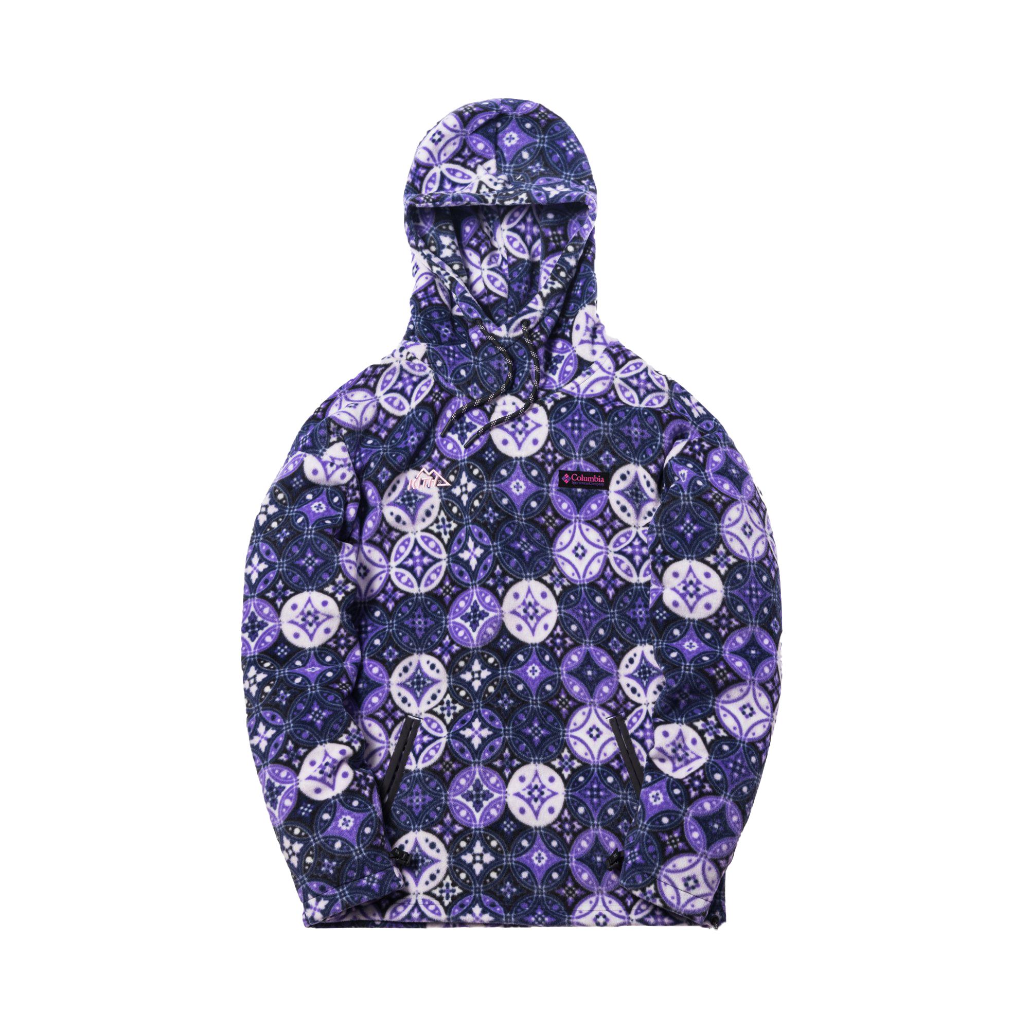 Kith x Columbia Fleece Hoodie Emperor Purple