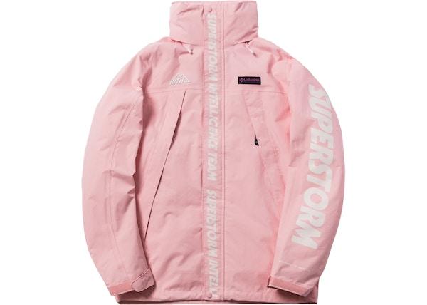 7eb1d2d6bdfa5 Kith x Columbia OSO Rain Jacket Cherry Blossom