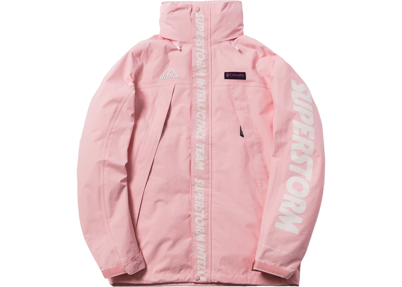 850d44d6 Sell. or Ask. Size L. View All Bids. Kith x Columbia OSO Rain Jacket Cherry  Blossom