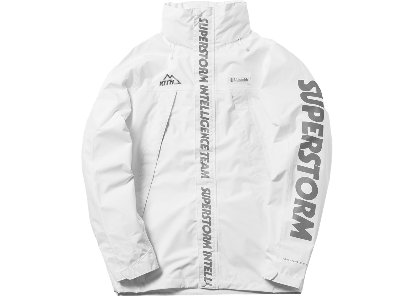 74c5dd53 Sell. or Ask. Size S. View All Bids. Kith x Columbia OSO Rain Jacket White