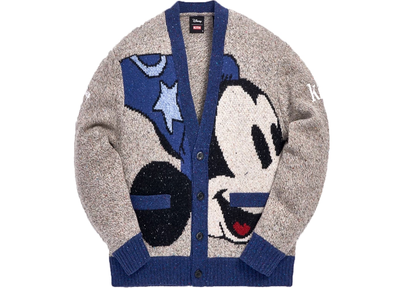 Kith x Disney 40s Knit Cardigan Navy