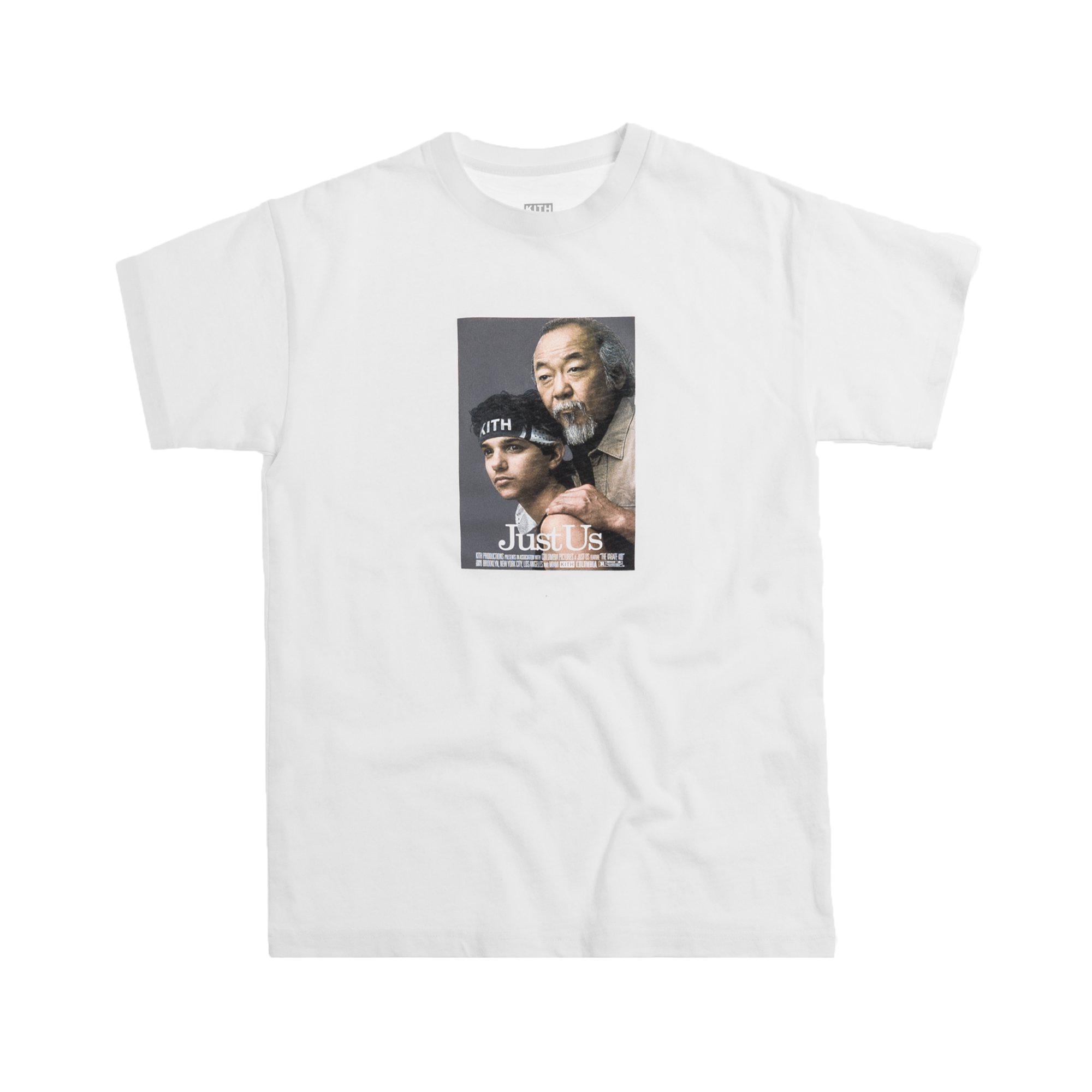 Kith x Karate Kid Tee White