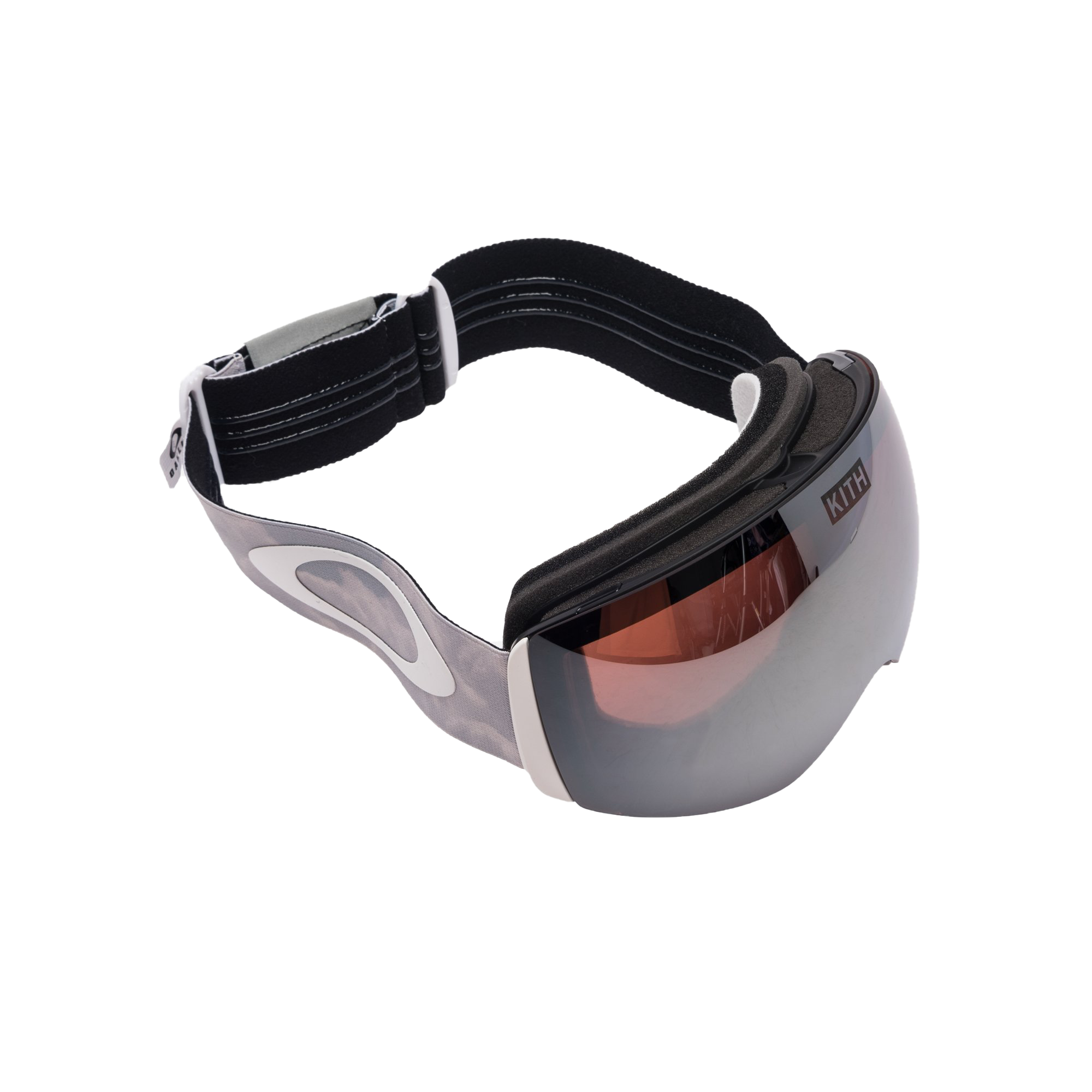 Kith x Oakley Flight Deck Goggles Silver